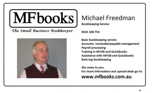 Michael Freedman Bookkeeping Service Logo and Images