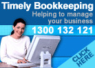 Timely Bookkeeping Logo and Images