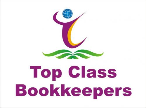 TOP CLASS BOOKKEEPERS Logo and Images