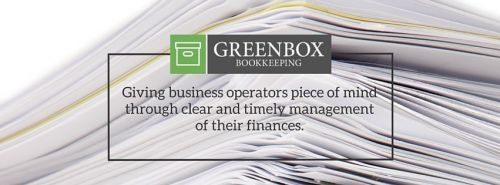 Greenbox Bookkeeping Logo and Images