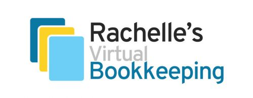 Rachelle's Virtual Bookkeeping & Administration Logo and Images