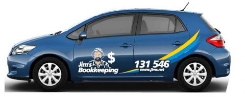 Jim's Bookkeeping Logo and Images