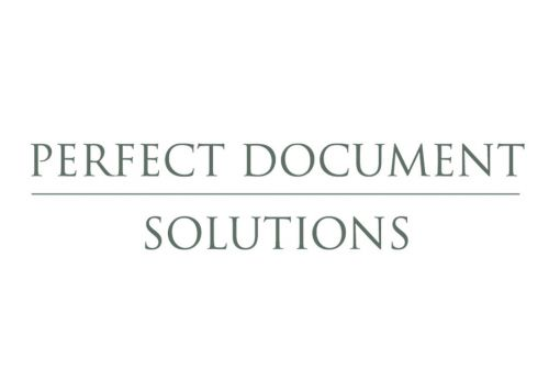 Perfect Document Solutions Logo and Images
