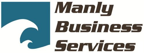 Manly Business Services Logo and Images