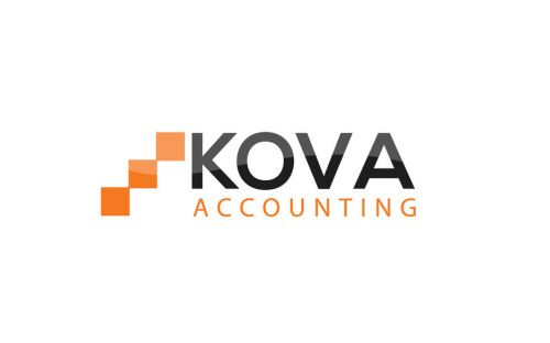 KOVA Accounting Logo and Images