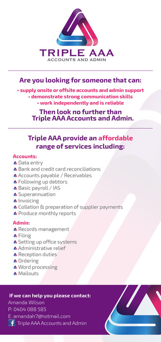 Triple AAA Accounts and Admin - The Vines Townsville Accountants