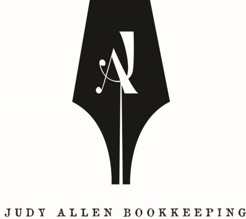 Judy Allen Bookkeeping Logo and Images