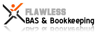 Flawless BAS & Bookkeeping Solutions Logo and Images