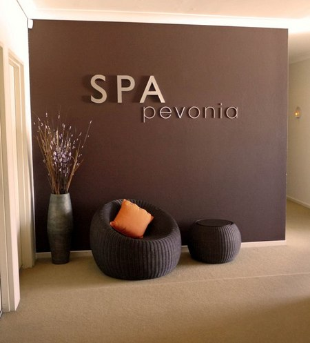 Spa Pevonia Logo and Images