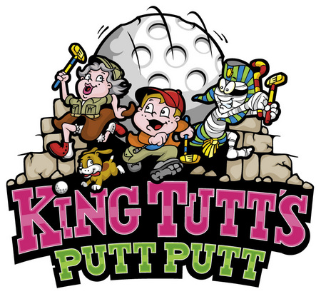 King Tutts Putt Putt Logo and Images
