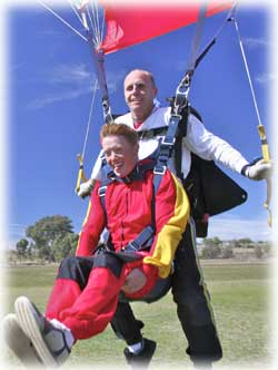 Sydney Skydivers Logo and Images