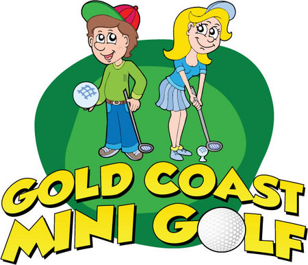 Gold Coast Mini Golf & Bungy Trampolines Logo and Images