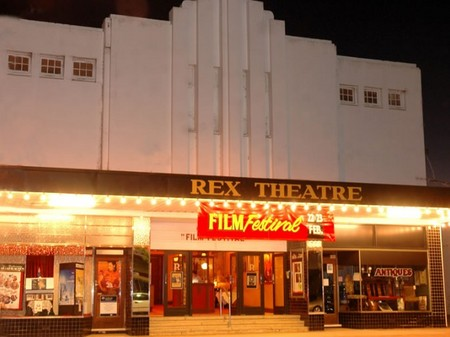 The Rex Theatre Logo and Images