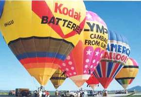 Balloon Flights of Bendigo Logo and Images
