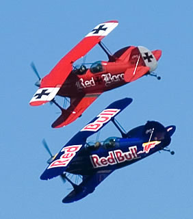 Red Baron Adventures Logo and Images
