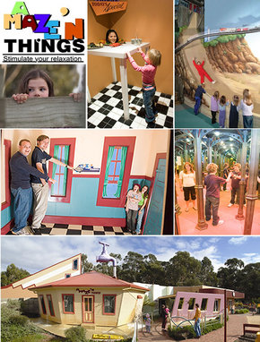 A Maze 'N Things Logo and Images