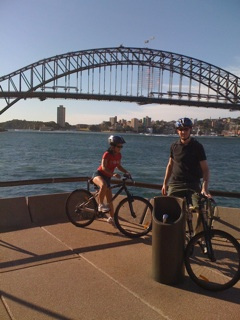 Sydney By Bike Logo and Images