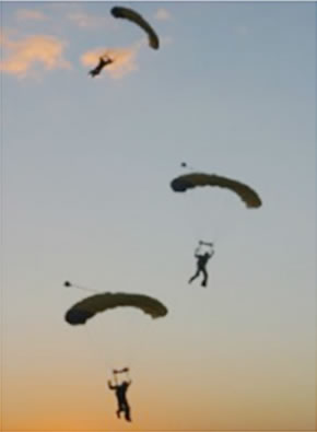 SA Skydiving Logo and Images