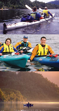 Blackaby's Sea Kayaks and Tours Logo and Images