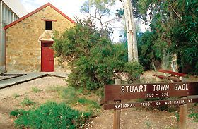 Old Stuart Town Gaol Logo and Images