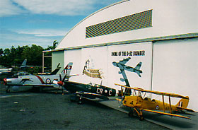 The Australian Aviation Heritage Centre Logo and Images
