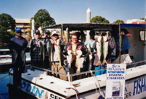 Sea Master Fishing Charters Logo and Images