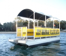 Coochie Boat Hire Logo and Images