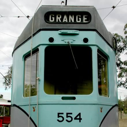 Brisbane Tramway Museum Logo and Images