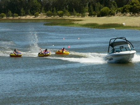 Bonney's WA Water Ski Park Logo and Images