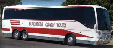 Bundaberg Coach Tours Logo and Images