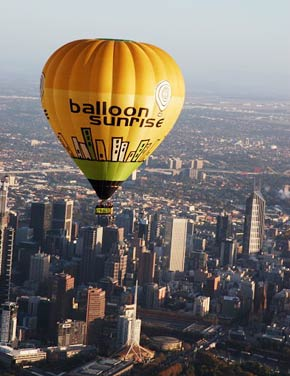 Balloon Sunrise Hot Air Ballooning Logo and Images