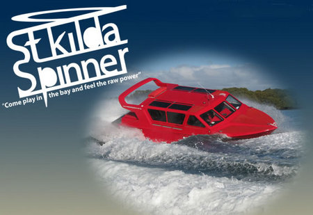 St Kilda Spinner Jet Boat Rides Image