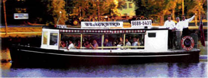 Blackbird Maribyrnong River Cruises Logo and Images