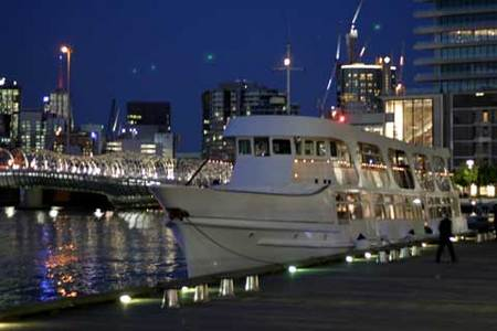Pleasure Boat Cruises and Boat Charters Logo and Images