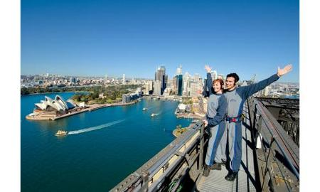 Sydney Harbour Bridge Climb Logo and Images