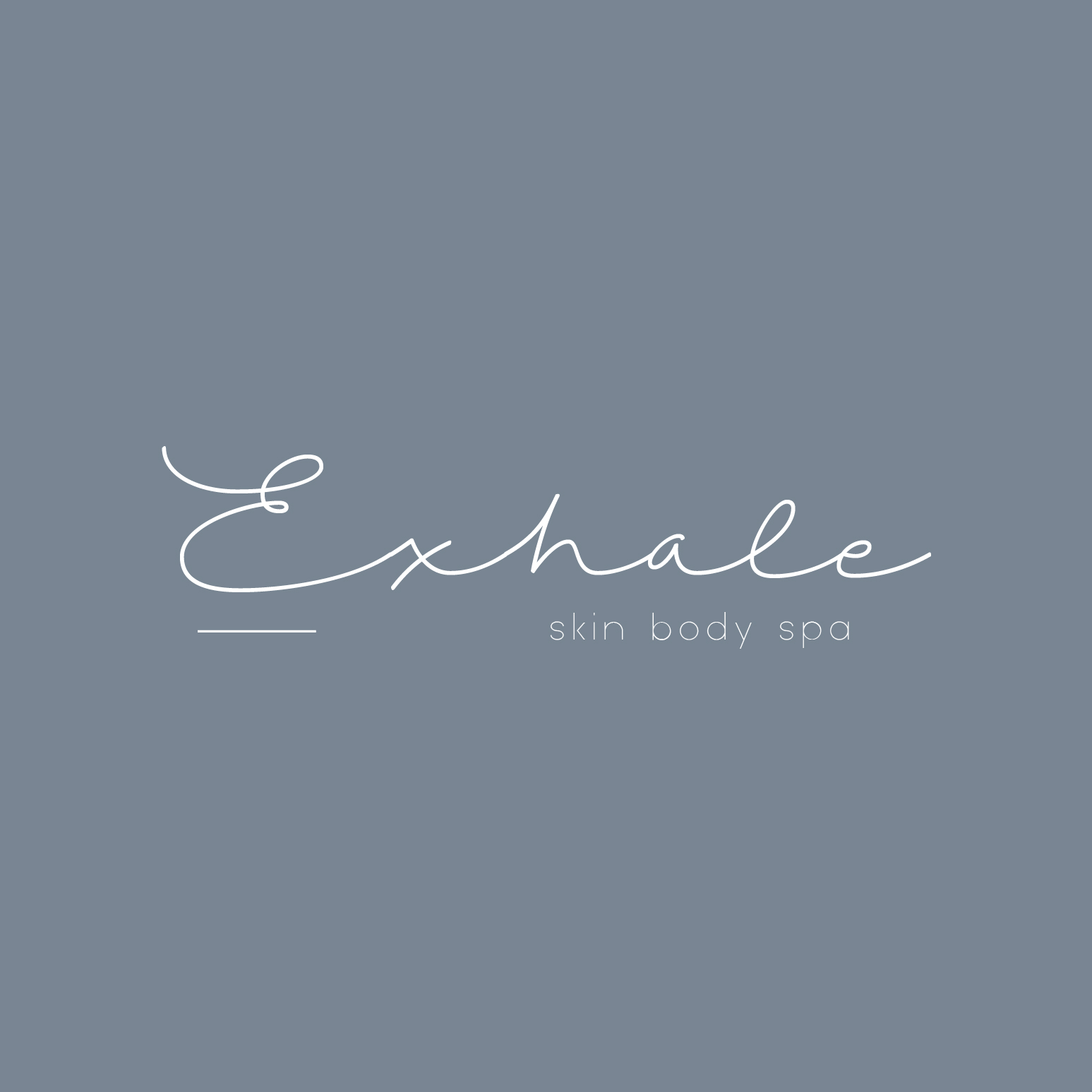 Exhale Skin Body Spa Logo and Images