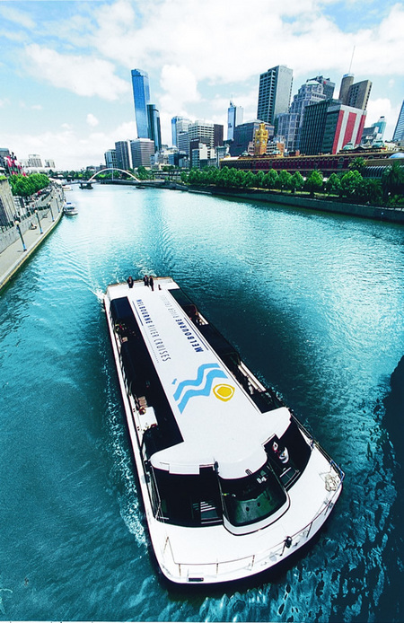 Melbourne River Cruises Logo and Images