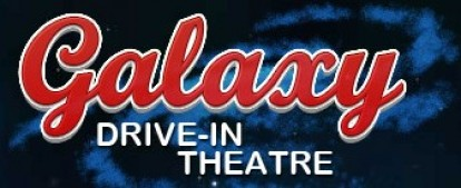 Galaxy Drive-in Theatre Logo and Images