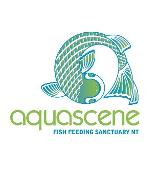 Aquascene Fish Feeding Sanctuary Logo and Images