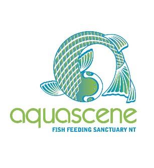 Aquascene Fish Feeding Sanctuary Logo and Images