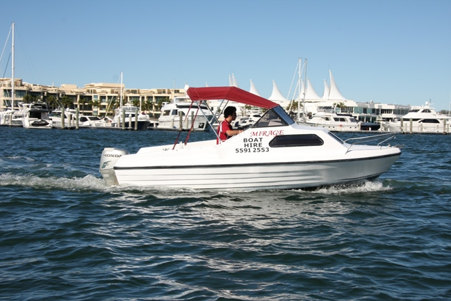 Mirage Boat Hire Image