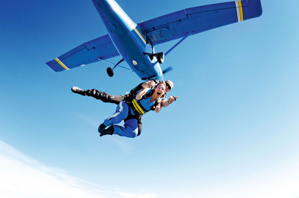 Skydive the Beach and Beyond Yarra Valley Logo and Images