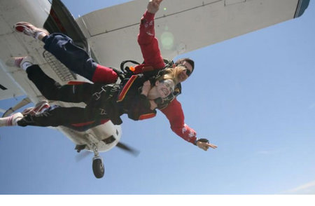 Commando Skydivers Logo and Images