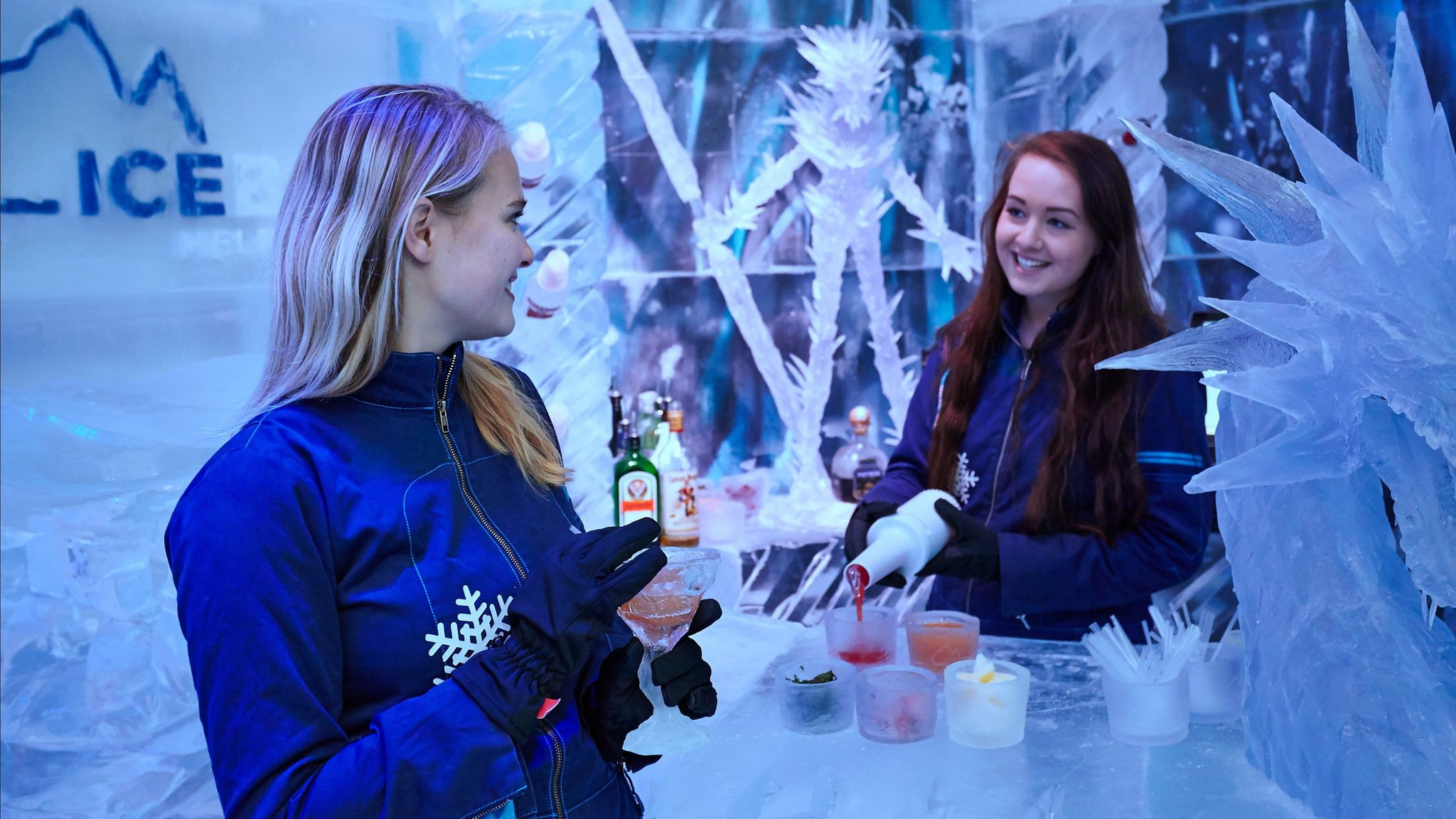 Icebar Melbourne Logo and Images