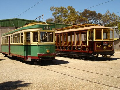 Sydney Tramway Museum Logo and Images