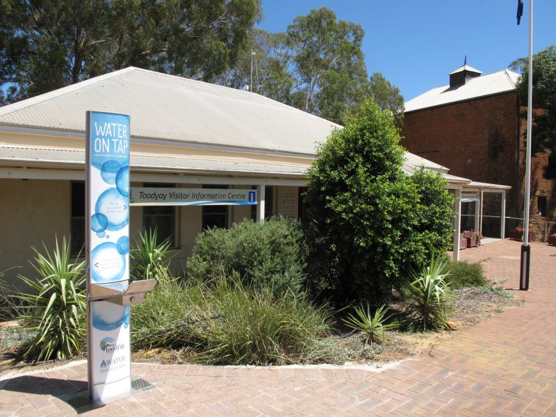 Toodyay Visitor Centre Logo and Images