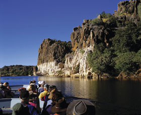 Geikie Gorge National Park Logo and Images