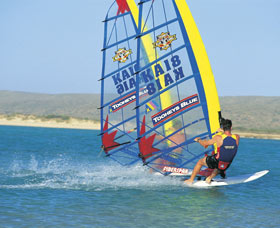 Windsurfing and Surfing Logo and Images