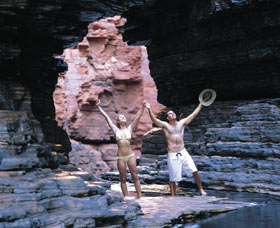 Karijini National Park Logo and Images