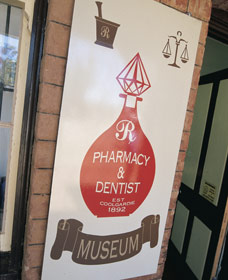 Pharmacy Museum Logo and Images